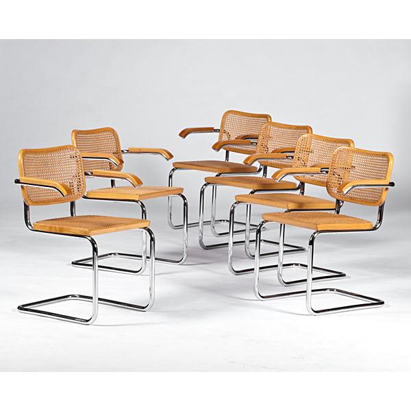 Breuer Armchairs, Set of Six