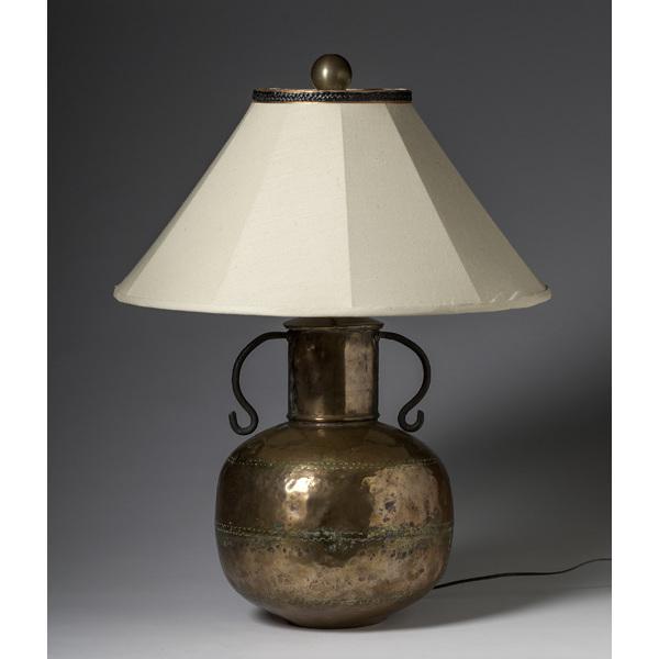Large Copper Lamp