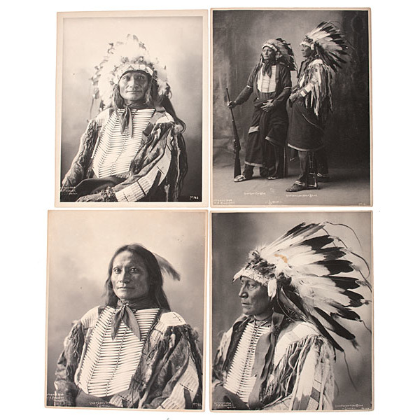 F.A. Rinehart (American, 1861-1928) Platinum Photographs