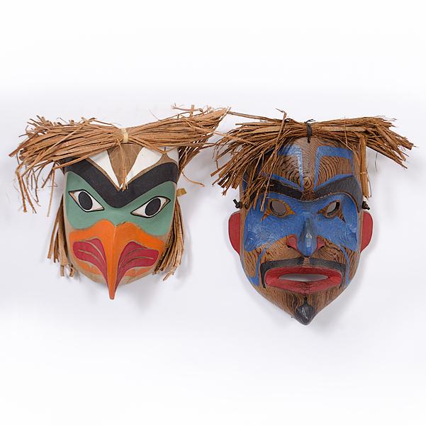 Northwest Coast Masks
