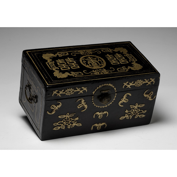 Chinese Lacquer Tea Chest