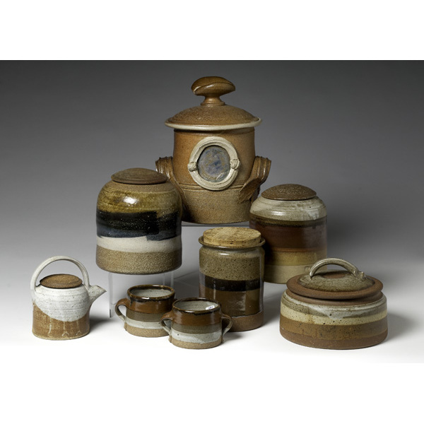 Collection of 20th Century Stoneware