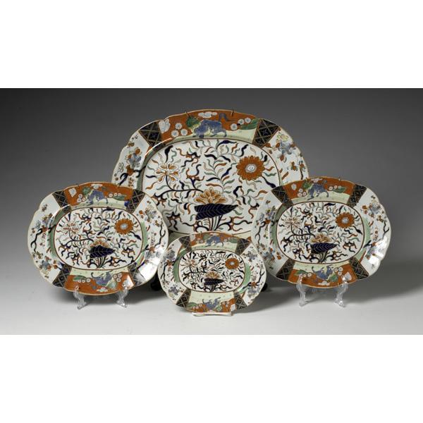 English Ironstone Platters