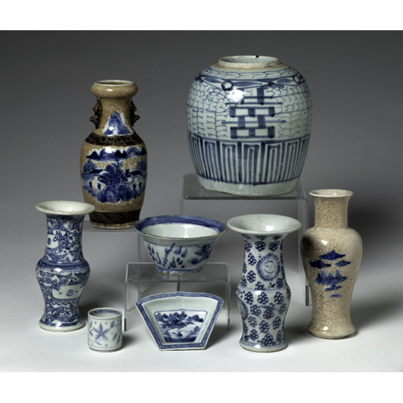 Chinese Ironstone and Porcelain