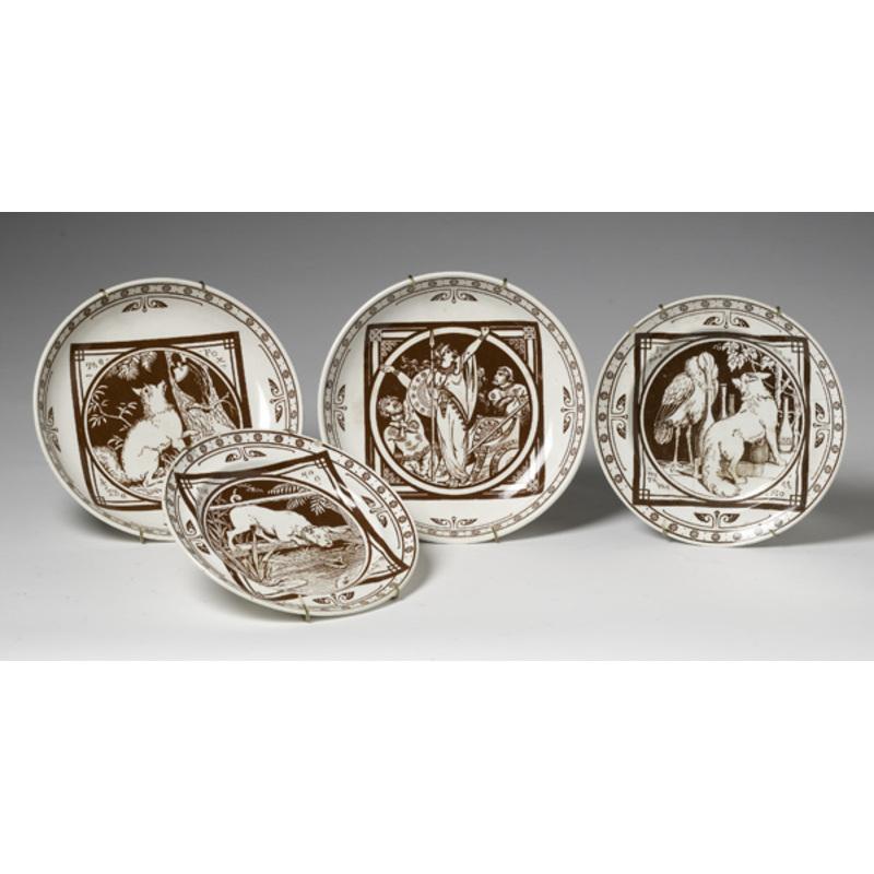 Minton Aesop's Fable Plates