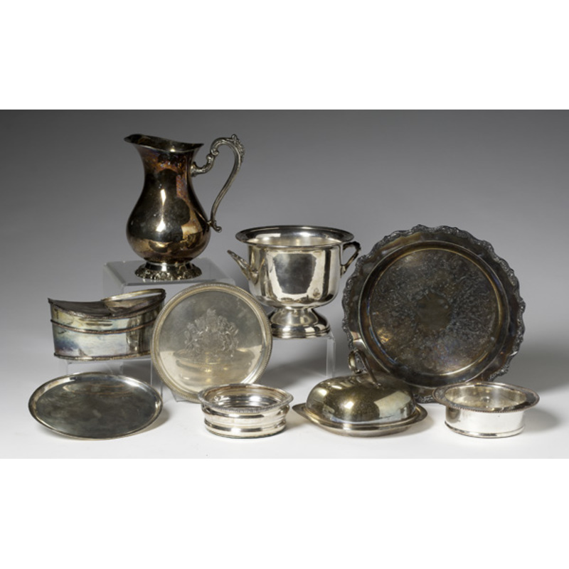 Collection of Silverplate Items