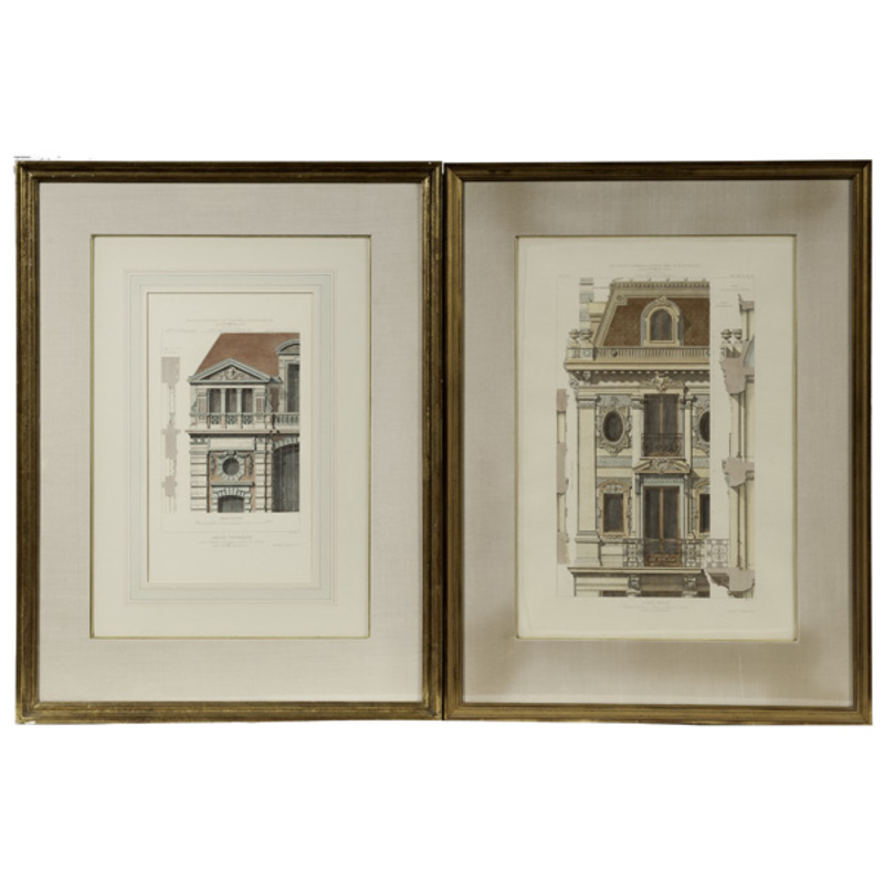 Architectural Engravings