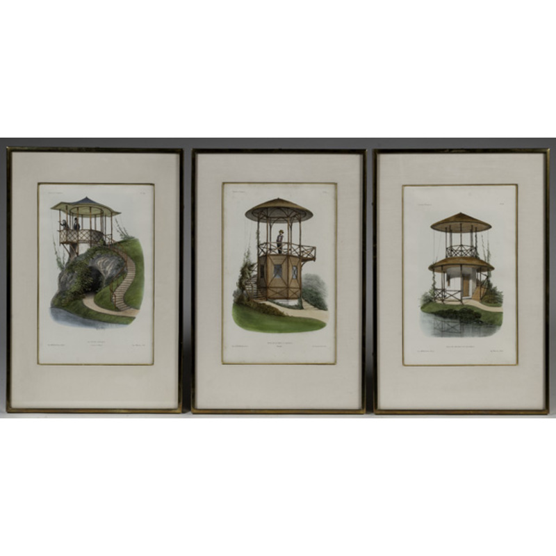 French Folly Lithographs