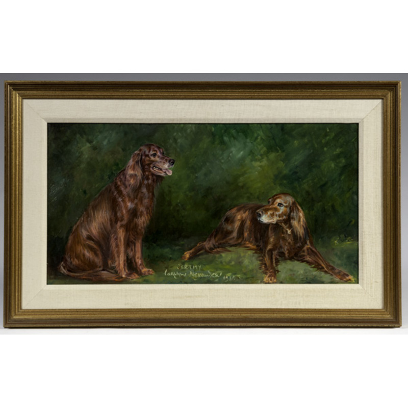 Oil Painting Study of Jeremy by Caroline Alexander
