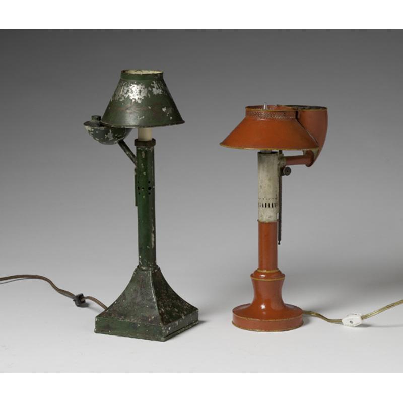 Tole Oil Lamps
