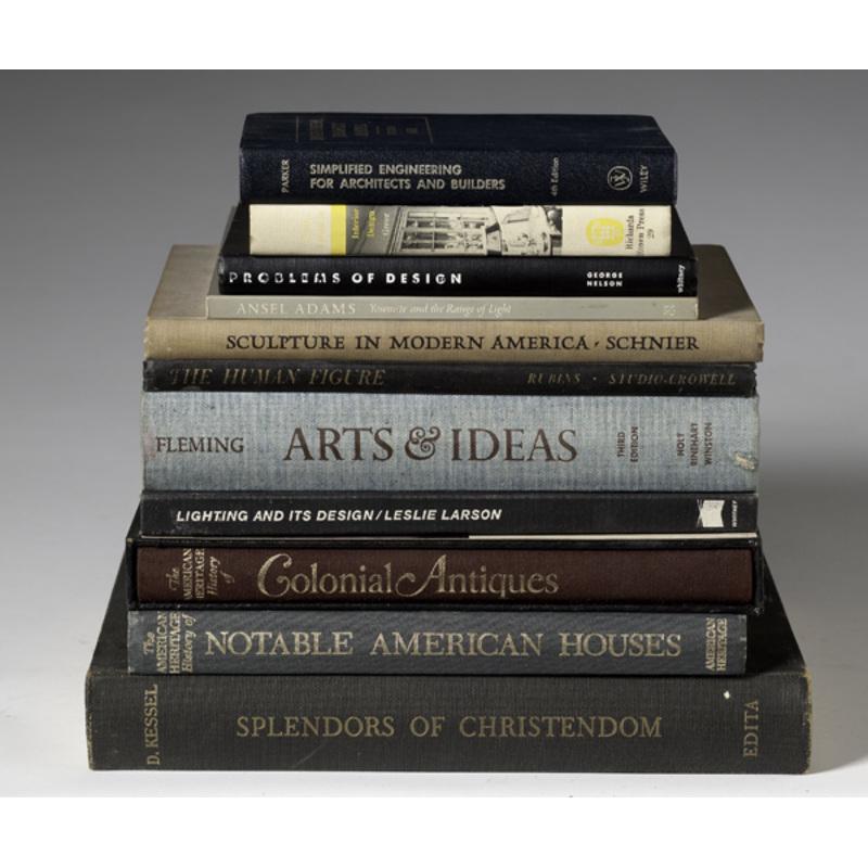 Books on Interior Design and Art