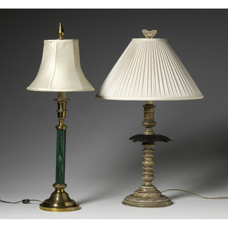 Candlestick Table Lamps with Shades