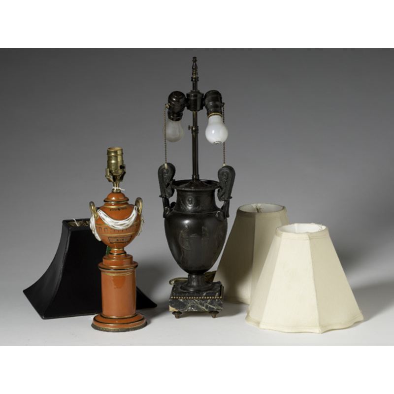 Pair of Classical Table Lamps, Plus