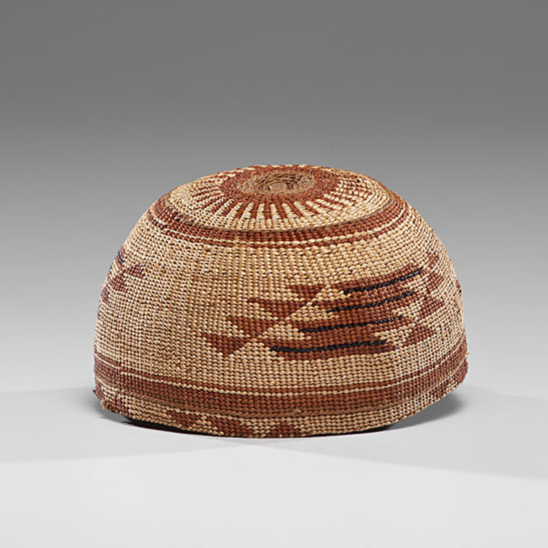 Hupa Basketry Hat