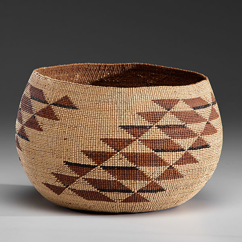 Northern California Mush Bowl From the Collection of Jan Sorgenfrei, Ohio