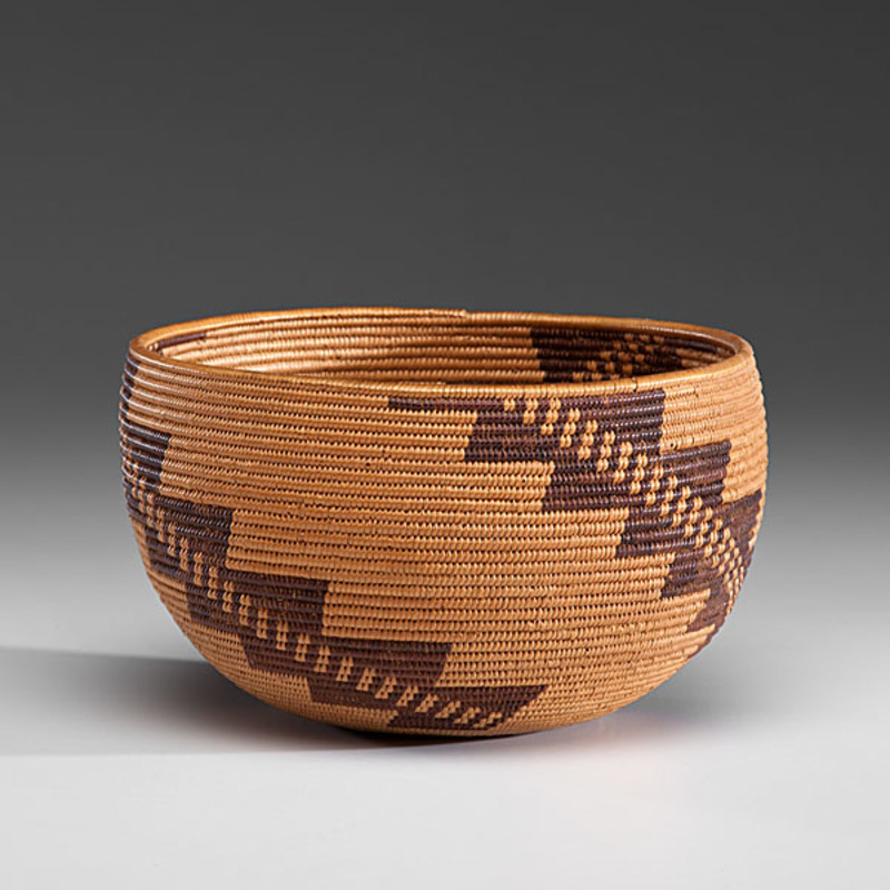 Washo Basket From the Collection of Jan Sorgenfrei, Ohio