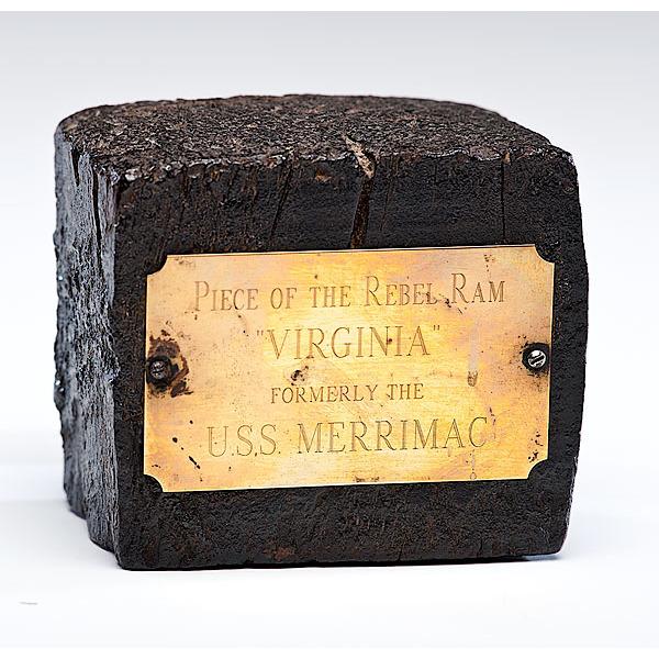 Confederate Navy, CSS Virginia, Wood Relic