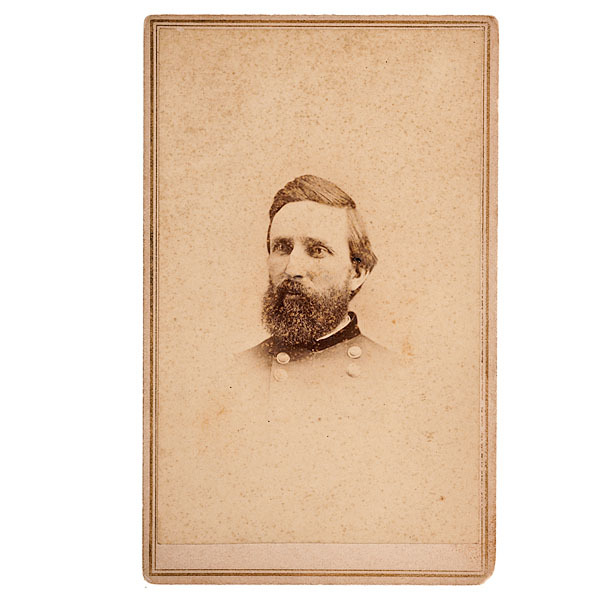 1st Maine Cavalry, CDV of BBG Charles H. Smith, CMOH