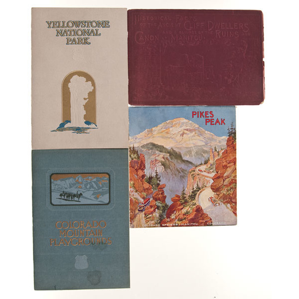 Fine Group of Western, Vintage Booklets, Pamphlets, & Brochures