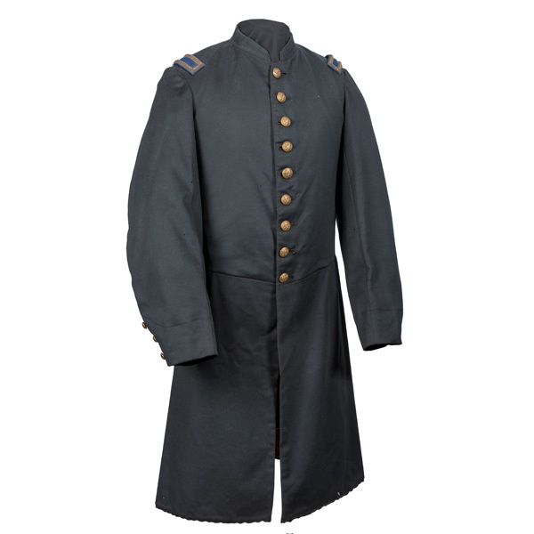 Civil War Frock Coat Belonging to Sam'l. F. Patton, Co. A., 59th ILL.