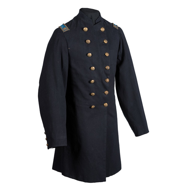 Civil War Double-Breasted Frock Coat Worn by Major William S. Harlan, 159th Ohio (NG) Infantry