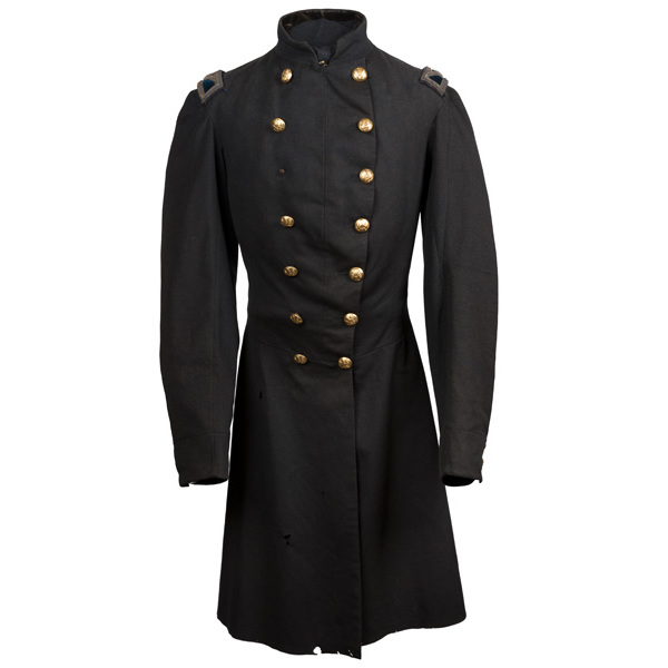 Civil War Double-Breasted Frock Coat Worn by Col. Charles B. Stoughton, 4th VT Infantry