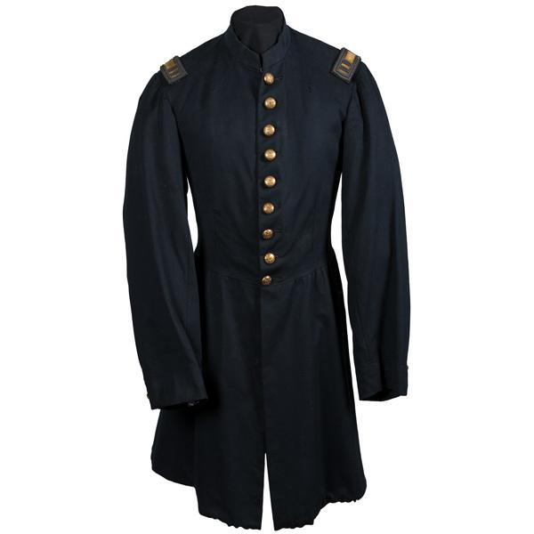 Civil War Cavalry Frock Coat Worn by Capt. Samuel N. Titus, 11th PA Cavalry