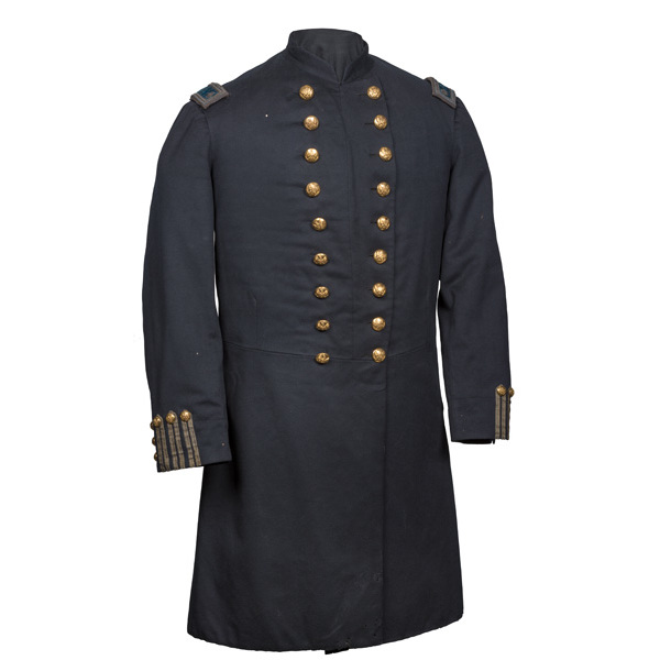 Pattern 1872 Lt. Col. Infantry Officer's Nine-Button Double-Breasted Frock Coat
