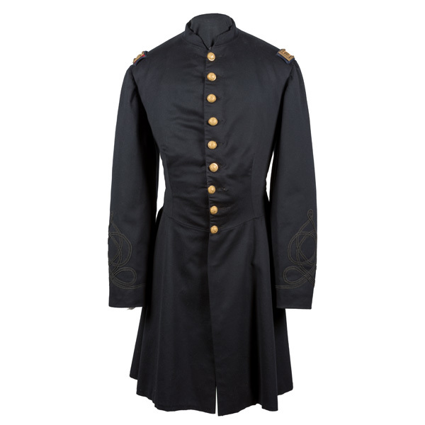 Civil War Cavalry Officer's Nine-Button Frock Coat Belonging to Capt. Henry B. Hays, 6th US Cavalry