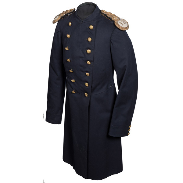 Indian Wars Infantry Officer's Double-Breasted Frock Coat