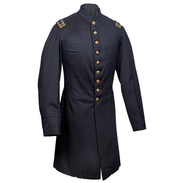 Civil War Frock Coat Identified to 1st Lieut. Henry S. Hitchcock, Co. A., 21st Mass.