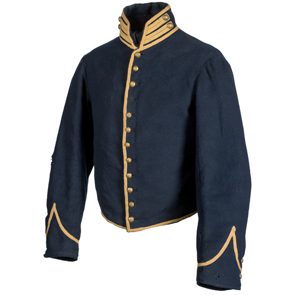 Enlisted Cavalry Shell Jacket Attributed to Pvt. Charles L. Morton, 4th Michigan Cavalry