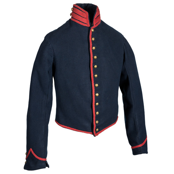 Civil War Artillery Shell Jacket Belonging to Pvt. Henry Thomas, 8th NYHA