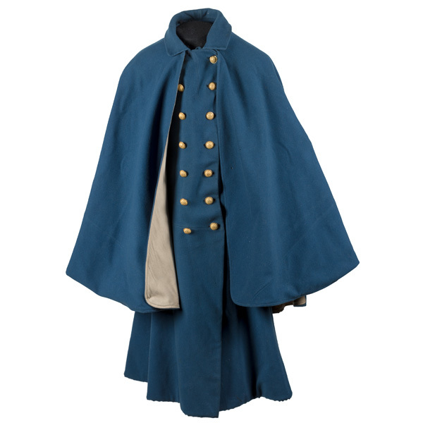 Outstanding Private Purchase Officer's Overcoat Worn by Capt. Henry B. Hays, 6th US Cavalry