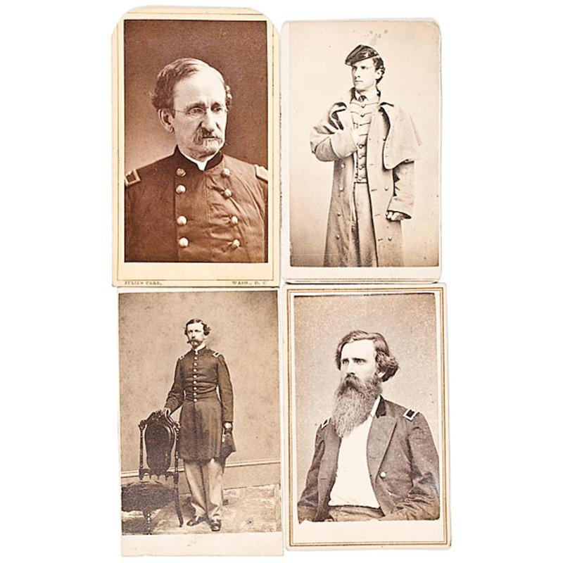 Four Staff Officer BBGs: A.J. Alexander, Wilson Barstow, William C. Bartlett, Edward G. Beckwith
