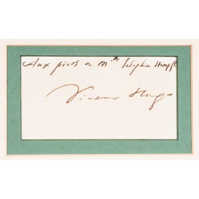 Victor Hugo, Clipped Signature