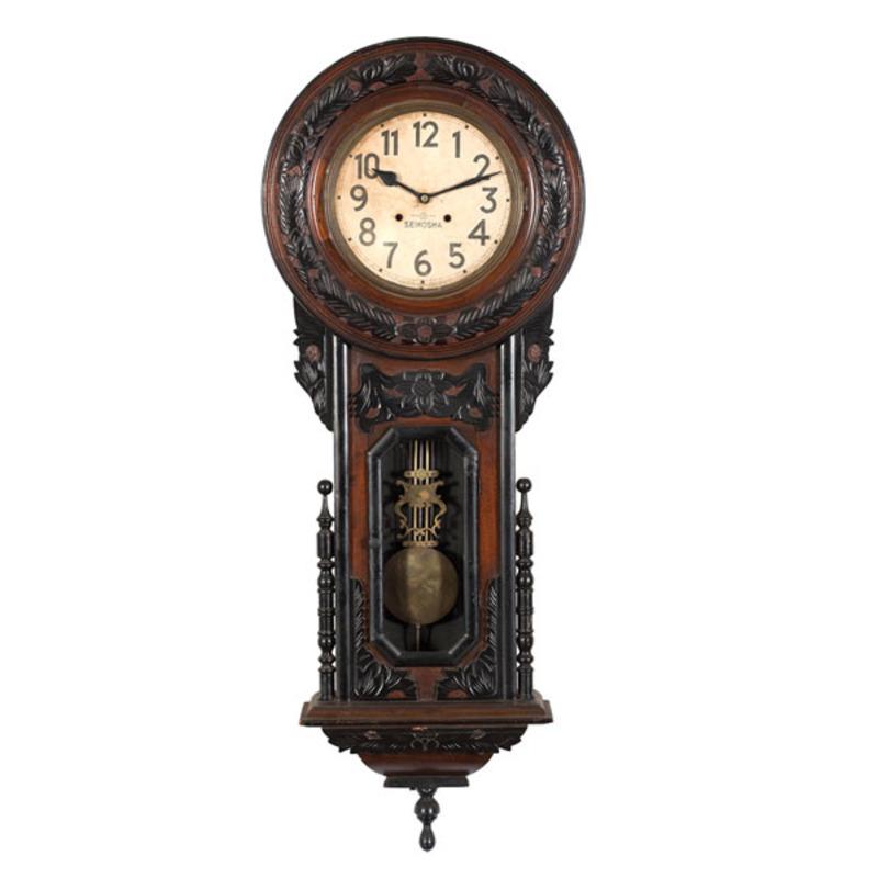 Seikosha Japanese Wall Clock Cowan S Auction House The