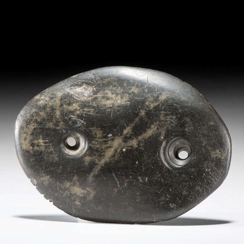 Glacial Kame Slate Gorget, From the Collection of Jan Sorgenfrei, Ohio