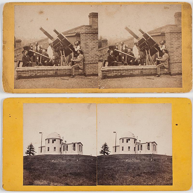 [Astronomy] Davenport, Iowa Eclipse Photography, 1869