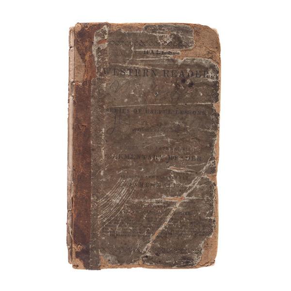 Americana - Midwest - Cincinnati, Hall's Western Reader, 1st Edition, 1833