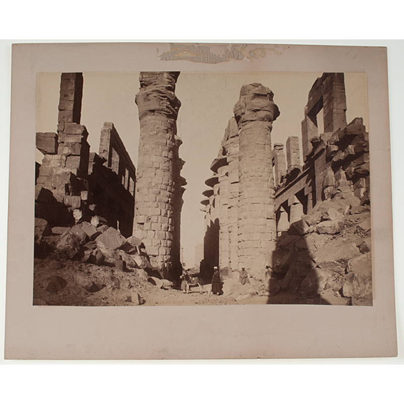 Albumen Photographs of Ancient Roman and Egyptian ...