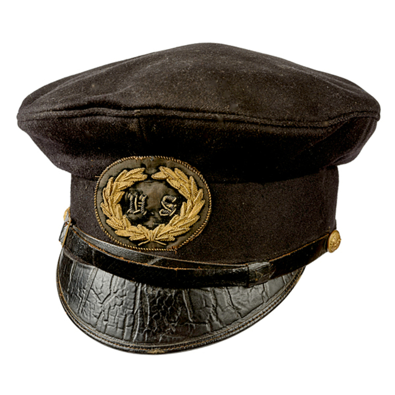 Model 1839 Mexican War Officer's Forage Cap Attributed to William Wallace Bliss
