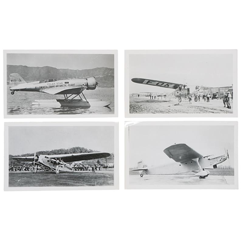 Airphotos, Jamestown, New York, Over 60 Photographs of Various Airplanes