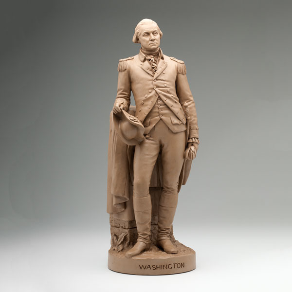 George Washington Statuette by John Rogers