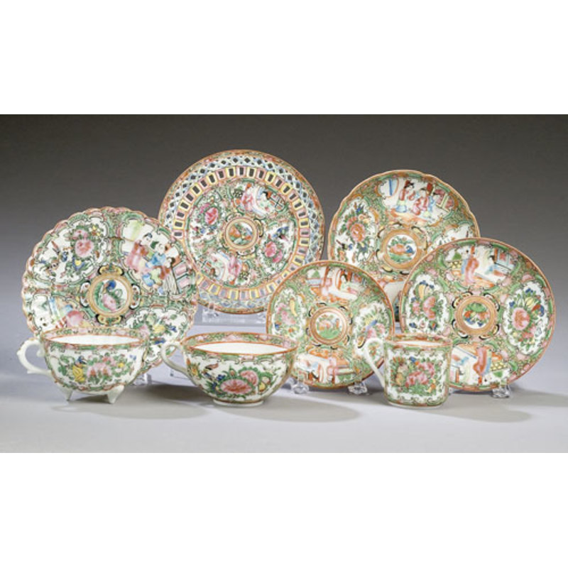 Lot of Rose Medallion/Mandarin China,