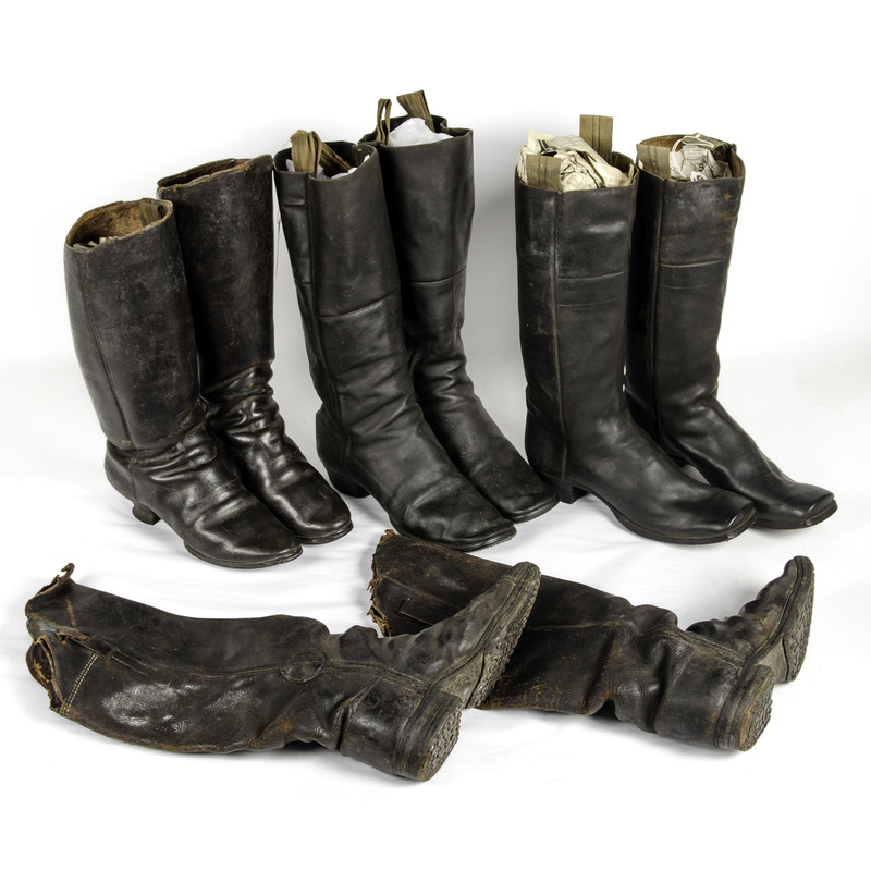 19th Century Boots Lot Of 4 Pairs Cowan S Auction House