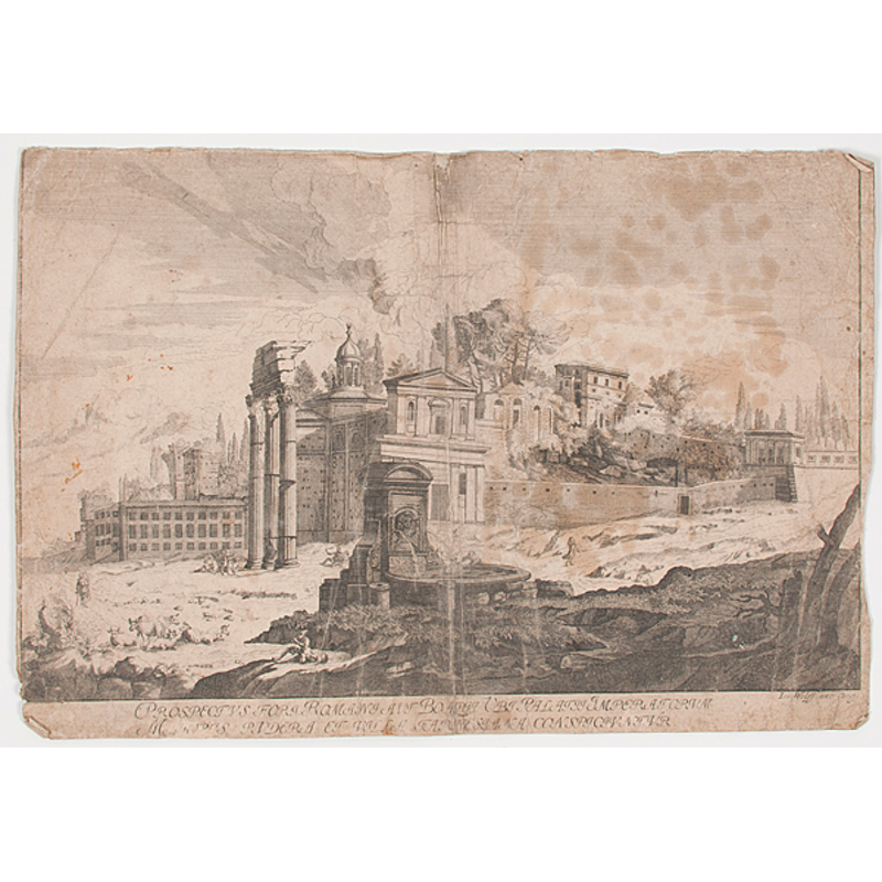 Engravings and Etchings of Buildings and Cities, Plus