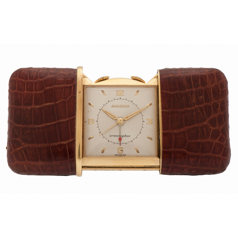Movado Ermetophon Purse Watch Ca 1930