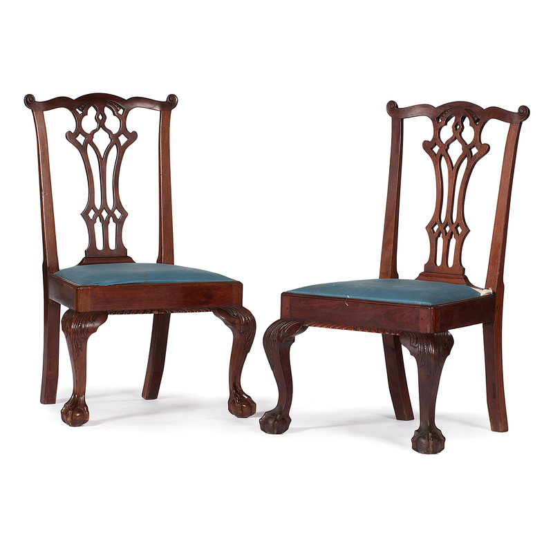 New York Chippendale Side Chairs