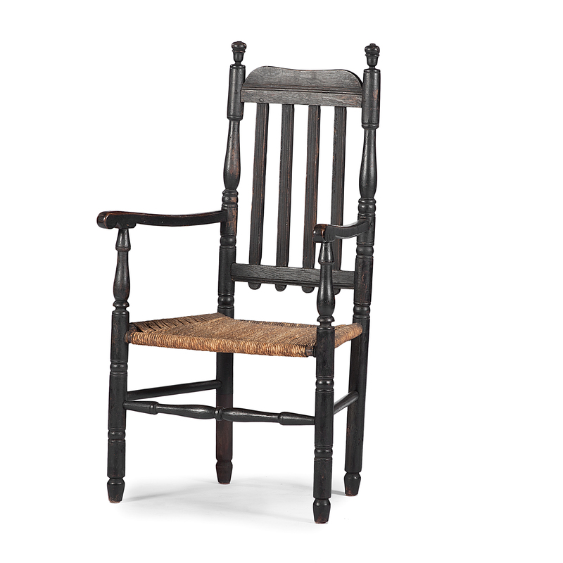 New England William and Mary Armchair